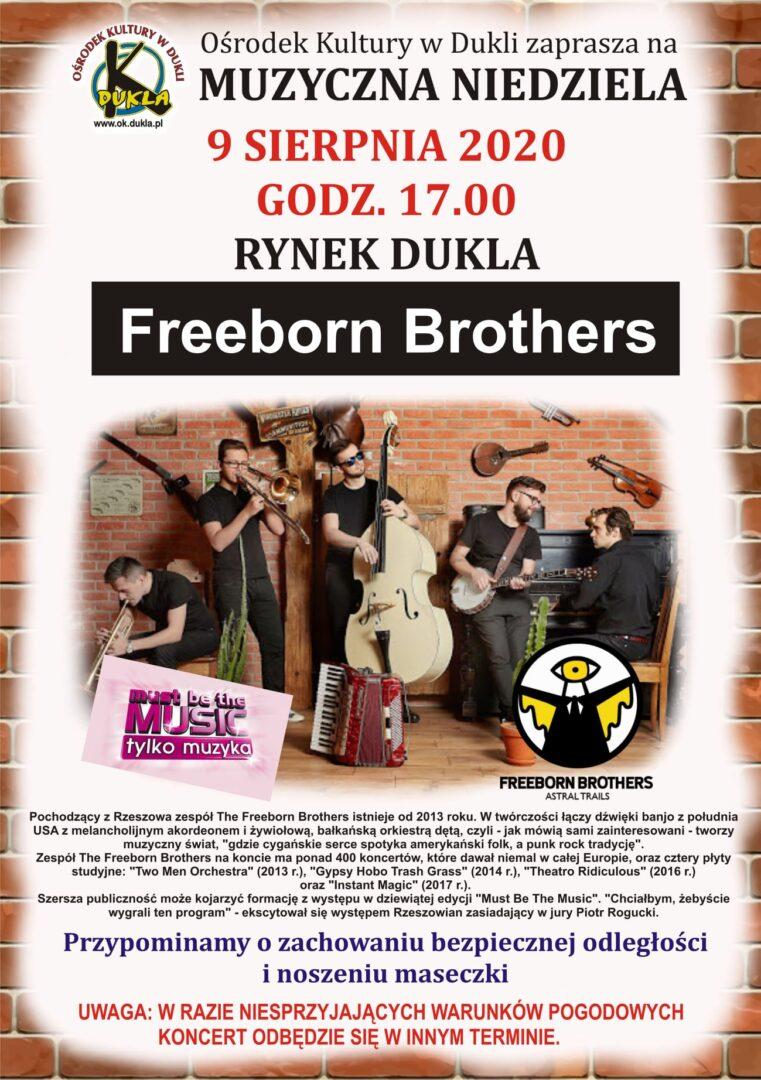 Muzyczna Niedziela - Freeborn Brothers