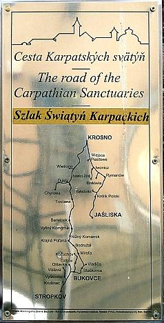 Szlak świątyń Karpackich Polska-Słowacja