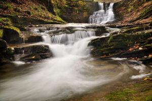 Wodospad w Iwli na potoku Iwełka