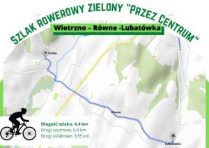 """Szlak zielony """"Przez Centrum"""""""