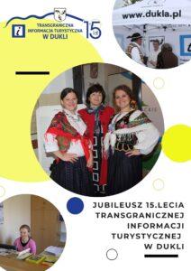 Jubileusz 15. lecia Transgranicznej Informacji Turystycznej w Dukli