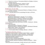 Program Kermesz w Olchowiec 2016