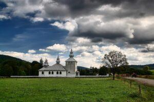 Cerkiew w Zyndranowej pw. Św. Mikołaja z 1985 roku