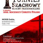 Turniej Szachowy z okazji chrztu Polski