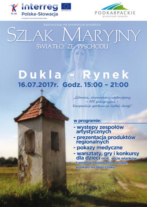 Szlak Maryjny Dukla Rynek - 16 lipca
